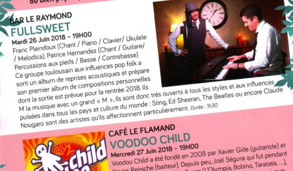 Festival Montauban en Scènes – Feat JL Nemours – 27 Juin 2018