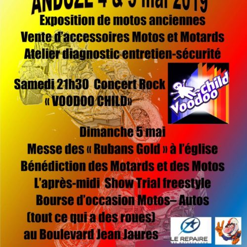 VOODOO CHILD au 2ème week-end de la moto d'Anduze