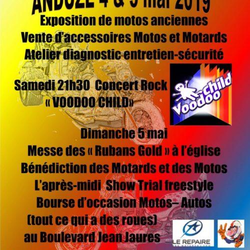 VOODOO CHILD au 2ème week-end de la moto d'Anduze